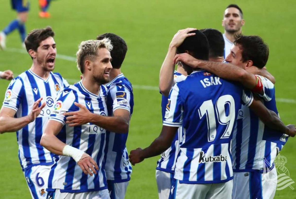 ¡Impensable! Real Sociedad líder de la LIGA
